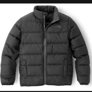 The North Face 600 black boys down jacket coat S